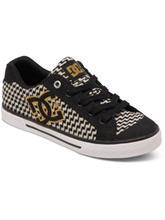 DC Chelsea Tx Se Sneakers Women black / gold / musta Naiset