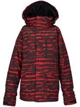 Burton Phase Poikien takki burner sloppy stripe / punainen Jätkät