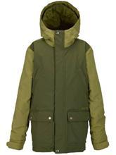 Burton TWC Greenlight Poikien takki keef / algae / vihreä Jätkät