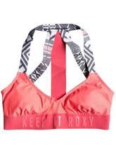 Roxy Sand To Sea Halter Bikini Top windy road combo true bla / musta Naiset