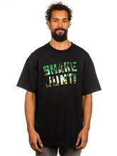Shake Junt Spray Logo Palms T-Shirt black / musta Miehet