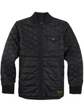 Burton Mallet Jacket Boys true black / musta Jätkät