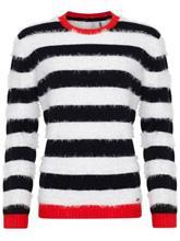 O'Neill Cascade Sweater white aop w / black / kuvioitu Naiset