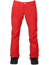 Burton Twc On Fleek Housut coral / punainen Naiset
