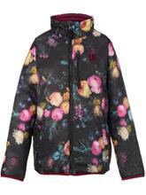 Burton Flex Puffy Takki tytöille sangria / highland floral / pinkki Tytöt
