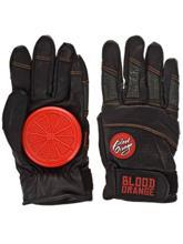 Blood Orange Leather LXL Slide Gloves brown / ruskea