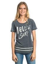 Rip Curl Love & Surf T-paita black / musta Naiset