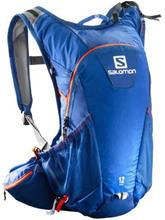 Salomon Agile 12 Set Backpack blue yonder / vivid orange / sininen Miehet