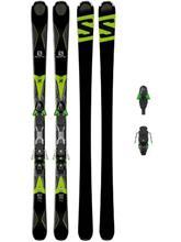 Salomon X-Drive 8.0 Fs 175 + Xt12 2017 black / green / musta Miehet