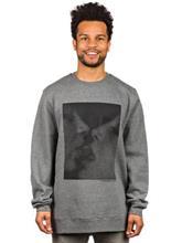 HUF Strawberry Sweater gunmetal heather / harmaa Miehet