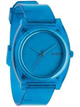 Nixon The Time Teller P Rannekello translucent blue / sininen Miehet