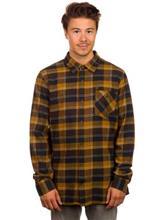 Volcom Pablo II Shirt LS rust / ruskea Miehet