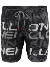 O'Neill Stack Boardshorts black aop / musta Miehet