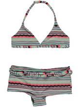 O'Neill Structure Shorty Bikinit tytöille pink aop w / blue / pinkki Tytöt