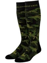 Dakine Freeride Tech Socks peat camo / camo Miehet