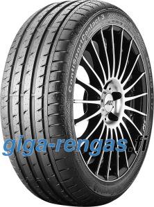 Continental SportContact 3 ( 235/40 R18 91Y MO, vannealueen ripalla )