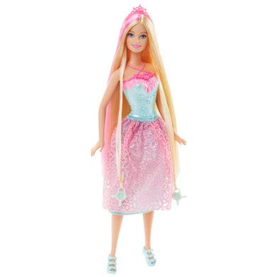 MATTEL Barbie Endless Hair Princess, pinkki