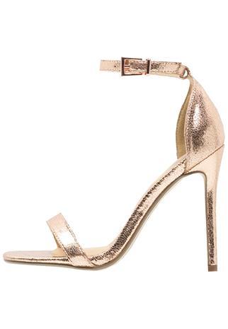 Missguided Korolliset sandaalit rose gold