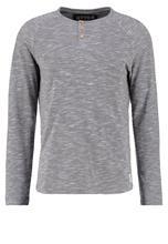 TOM TAILOR DENIM BASIC FIT Pitkähihainen paita coal mine grey