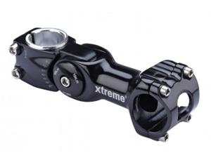 Xtreme Pro Adjustable stem for ä˜31,8mm black 95mm