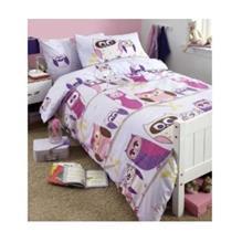 Hoot - Ugglebäddset, sängkläder, påslakanset