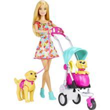 MATTEL Barbie my fab pets Kävelyllä koirien kanssa