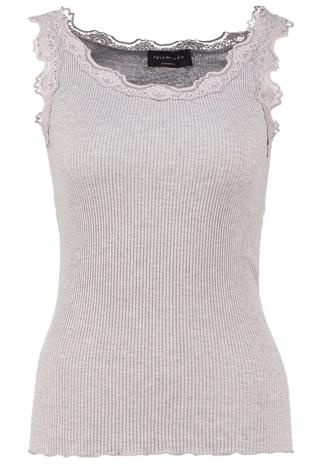 Rosemunde Toppi light grey mélange
