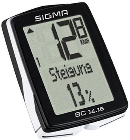 SIGMA SPORT BC 14.16 ajotietokone langallinen, musta