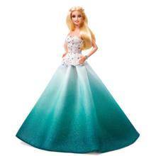 Barbie Holiday Barbie vihreässä mekossa