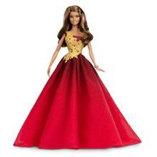 Barbie Holiday Barbie punaisessa mekossa