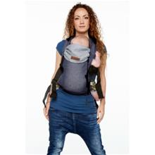 BYKAY Kantoliina Soft Structured Carrier Classic, Dark Jeans