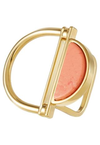 Sabrina Dehoff Sormus goldcoloured/orange