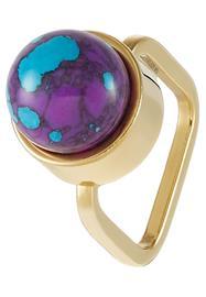 Sabrina Dehoff Sormus goldcoloured/purple
