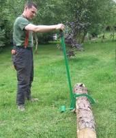 Sahauspukki 100kg Sahattava puu parempaan asentoon!
