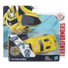 Transformers - Robots in Disguise - 1-Step Changers - Bumblebee (B4650)