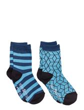 NOVA STAR Blue Cube Socks 14876650