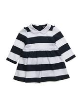 Tommy Hilfiger Rugby Stripe Baby Dress L/S 13927615