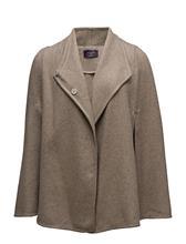 Violeta by Mango Cotton Wool-Blend Cape 14597646