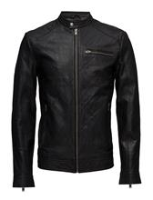 Selected Homme Shnnew Tylor Leather Jkt Noos 14656897
