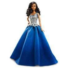 Barbie Holiday Barbie sinisessä mekossa