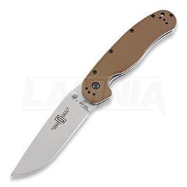 Ontario Knife RAT-1 D2 kääntöveitsi, coyote