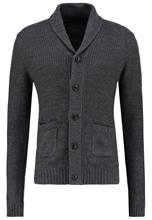 Jack & Jones JORANTHON Neuletakki dark grey melange