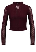 Miss Selfridge Petite Pusero burgundy