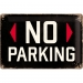 No Parking Kilpi 20x30cm
