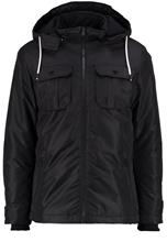 Jack & Jones JCOFLICKER Talvitakki black