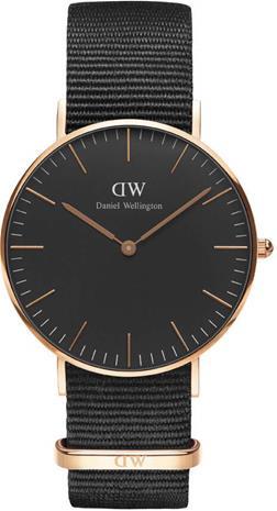 Daniel Wellington Classic Black Cornwall 36mm DW00100150