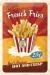 French Fries Kilpi 20x30cm