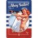 Pin Up Ahoy Sailor! Kilpi 20x30cm