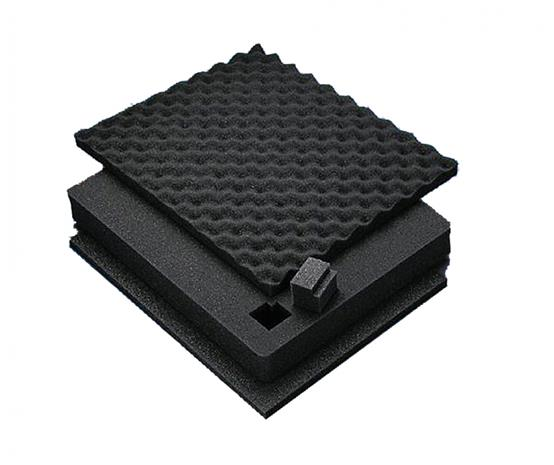 Peli vaahtomuovipehmuste retkilaatikkotarvike Box 1700 , musta