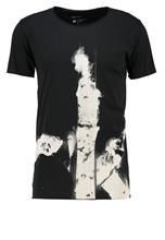 Calvin Klein Jeans TIGOR Printtipaita black